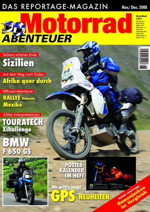 MotorradABENTEUER November/Dezember 2008