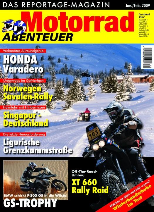 MotorradABENTEUER Januar/Februar 2009