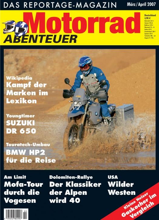 MotorradABENTEUER März/April 2007