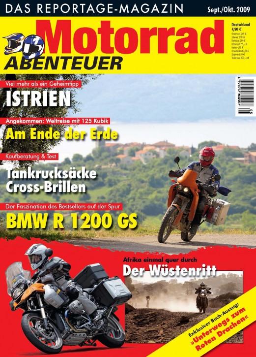 MotorradABENTEUER September/Oktober 2009