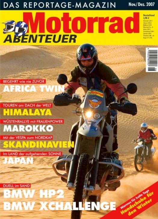 MotorradABENTEUER November/Dezember 2007