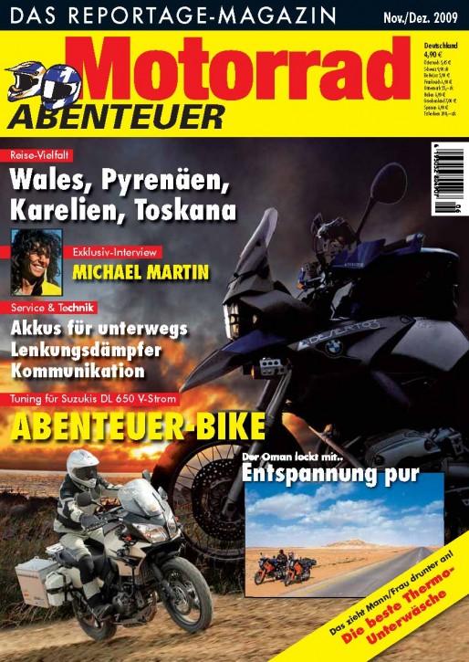 MotorradABENTEUER November/Dezember 2009