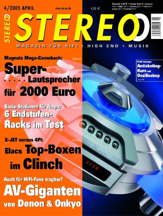STEREO April 2005