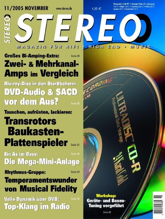 STEREO November 2005