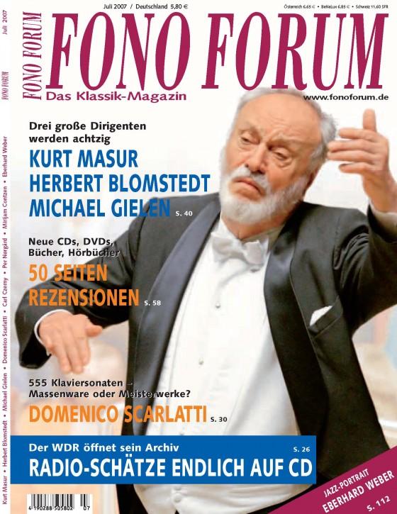 FonoForum Juli 2007