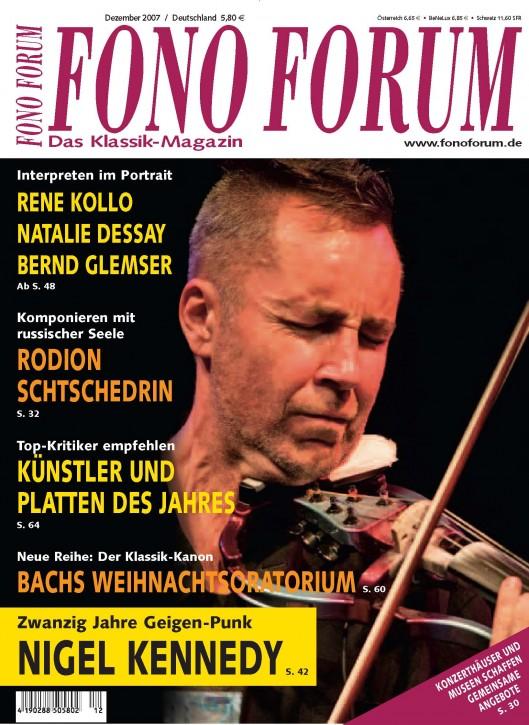 FonoForum Dezember 2007