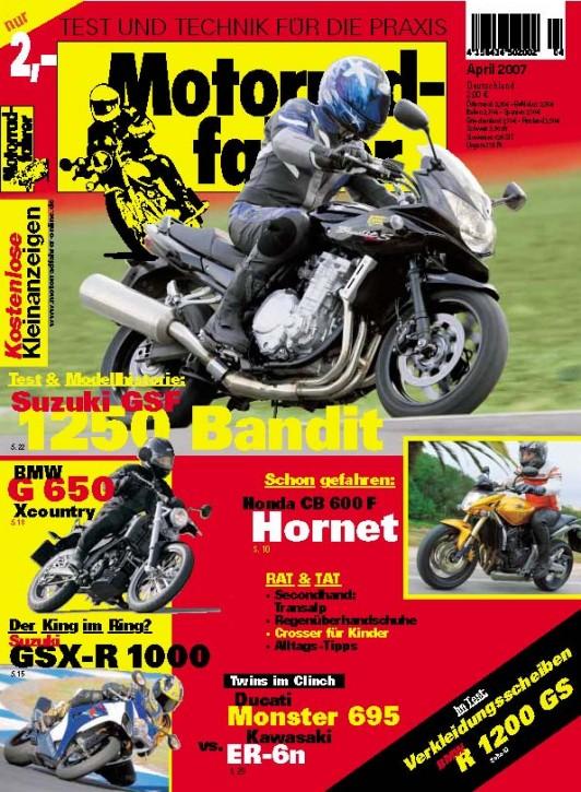 MOTORRADFAHRER April 2007