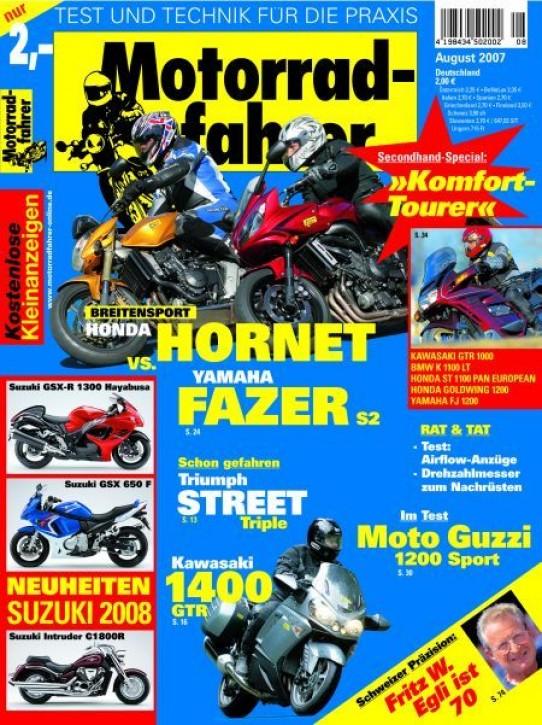 MOTORRADFAHRER August 2007