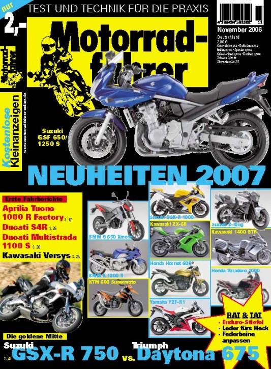 MOTORRADFAHRER November 2006