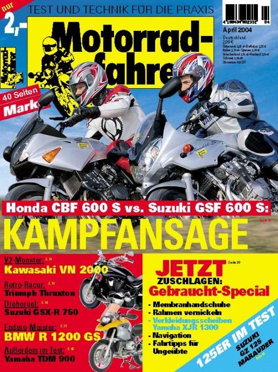 MOTORRADFAHRER April 2004