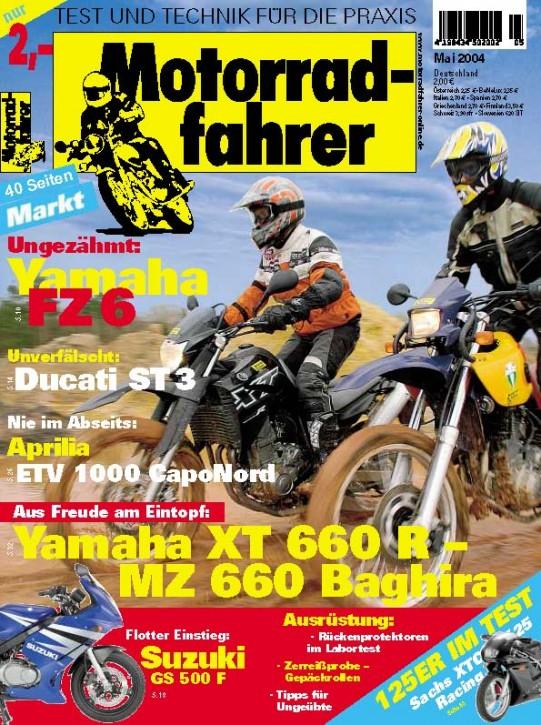 MOTORRADFAHRER Mai 2004