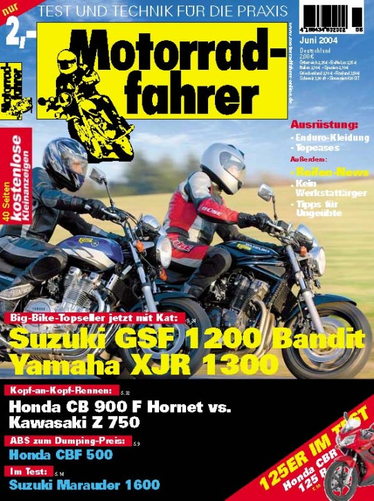 MOTORRADFAHRER Juni 2004