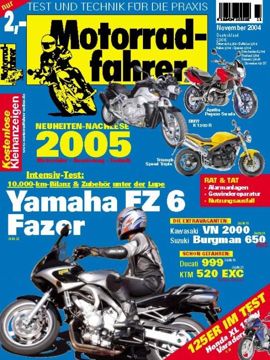 MOTORRADFAHRER November 2004