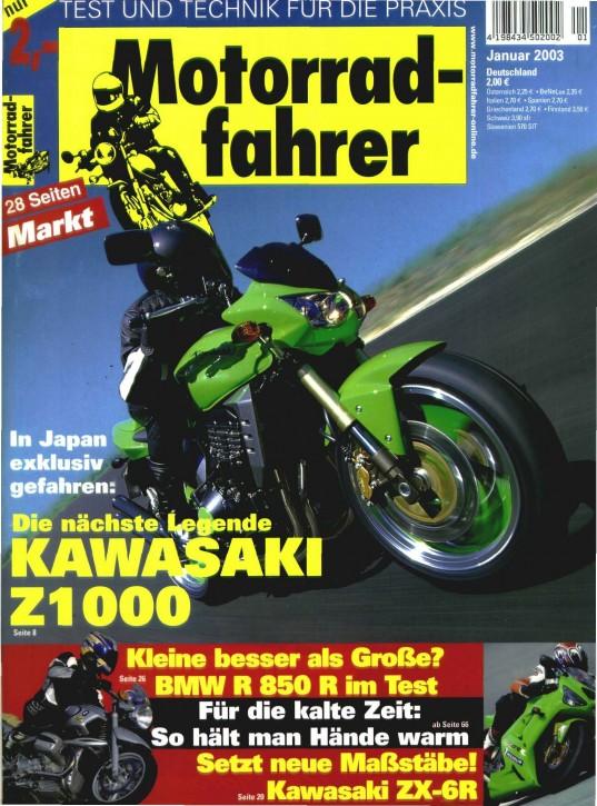 MOTORRADFAHRER Januar 2003