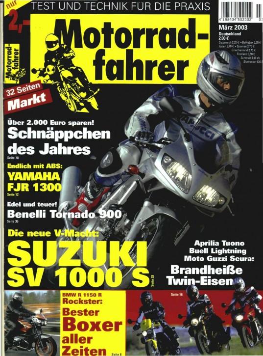 MOTORRADFAHRER März 2003