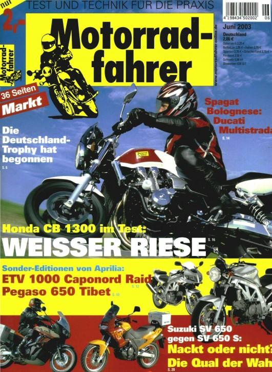 MOTORRADFAHRER Juni 2003