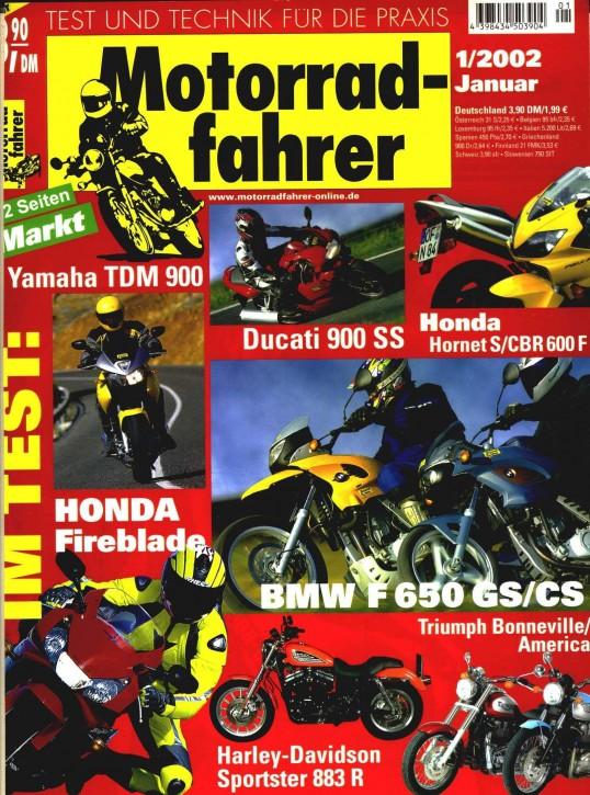 MOTORRADFAHRER Januar 2002