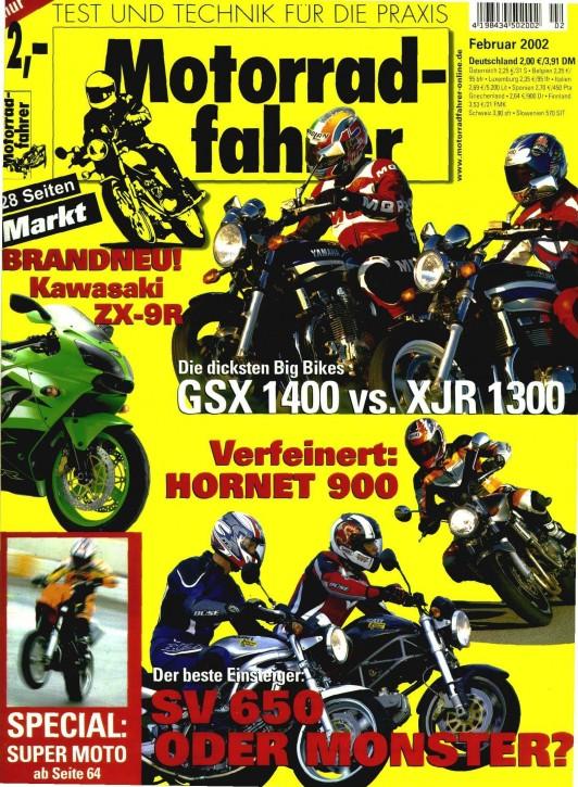 MOTORRADFAHRER Februar 2002