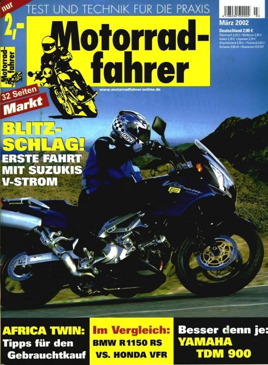 MOTORRADFAHRER März 2002