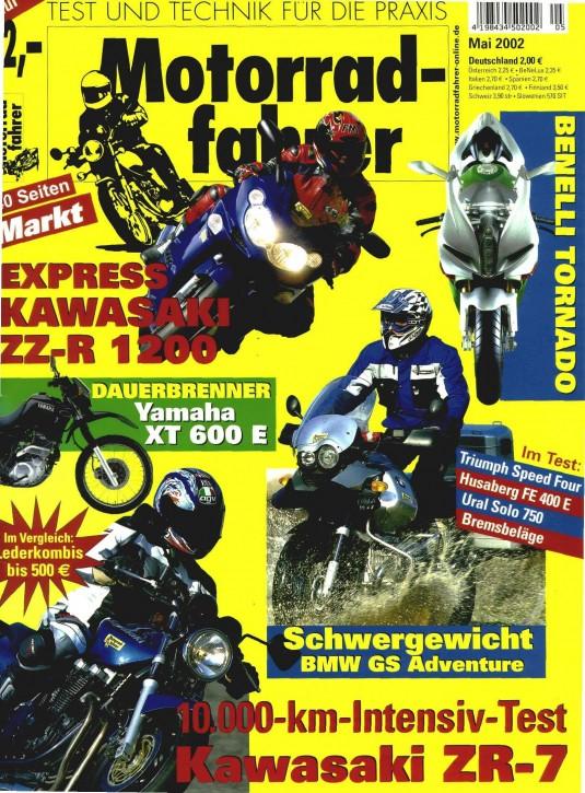 MOTORRADFAHRER Mai 2002