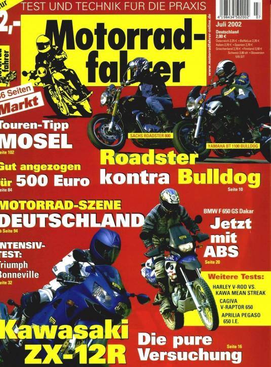 MOTORRADFAHRER Juli 2002
