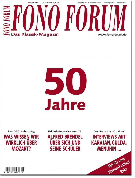 FonoForum Januar 2006