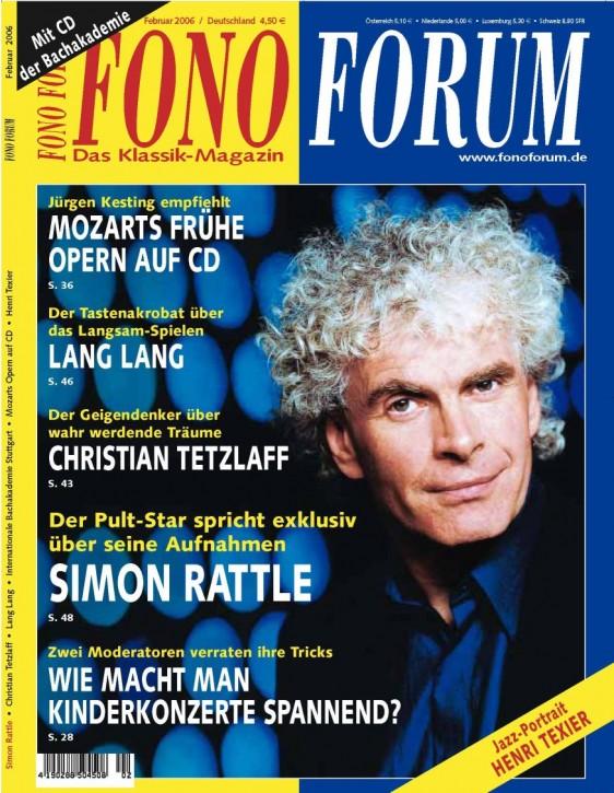 FonoForum Februar 2006