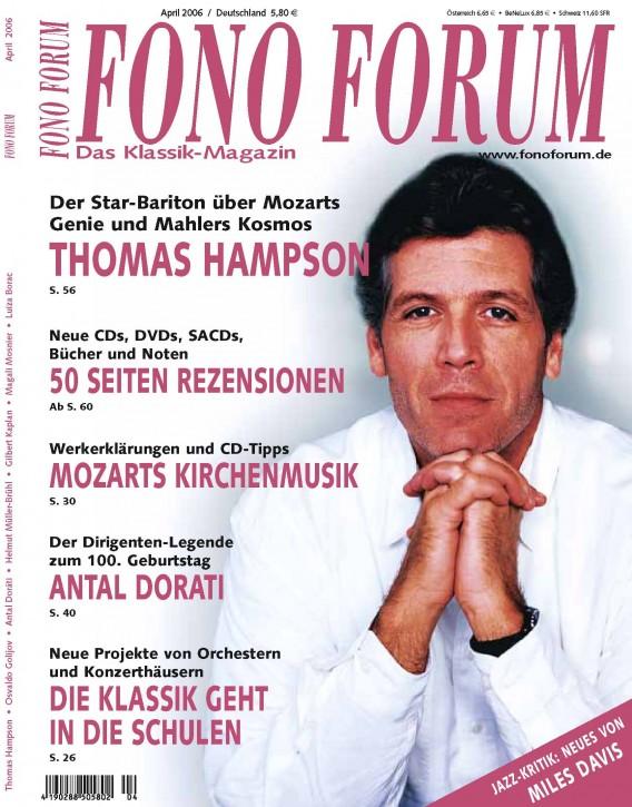 FonoForum April 2006