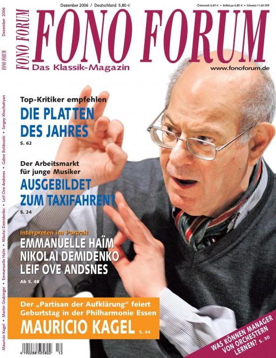 FonoForum Dezember 2006