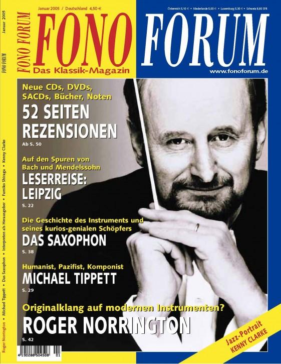 FonoForum Januar 2005