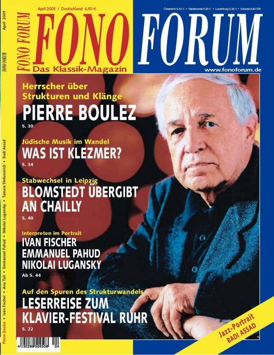FonoForum April 2005