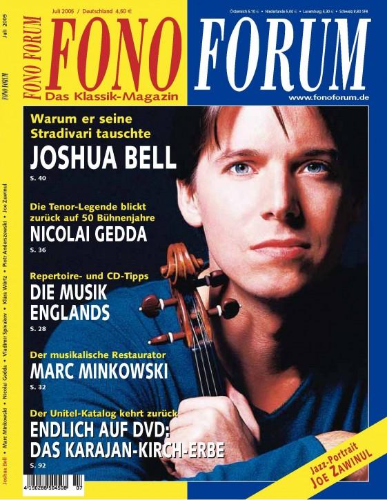 FonoForum Juli 2005