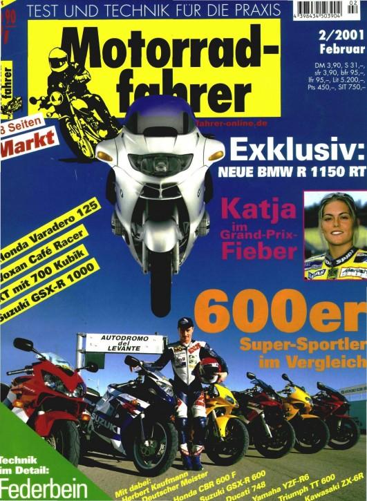 MOTORRADFAHRER Februar 2001