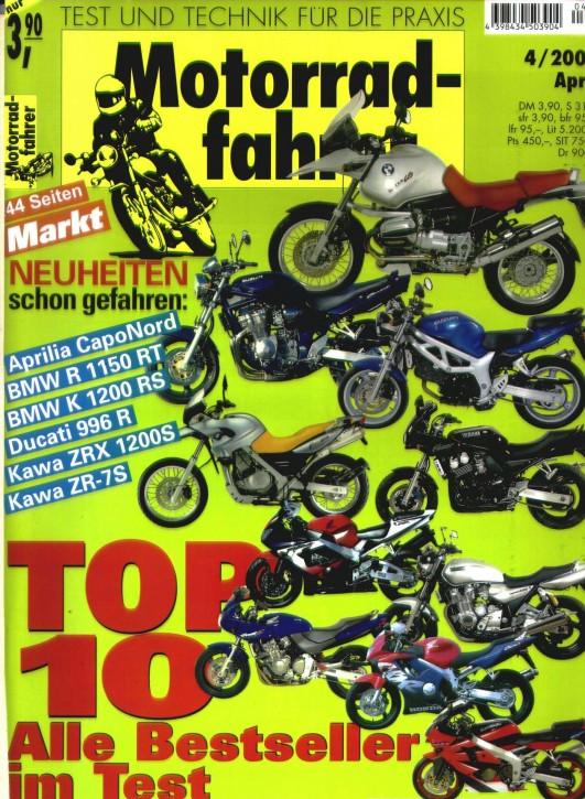 MOTORRADFAHRER April 2001