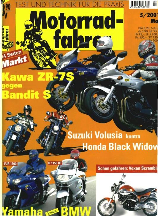 MOTORRADFAHRER Mai 2001