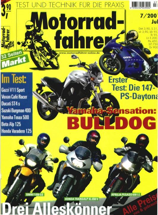 MOTORRADFAHRER Juli 2001