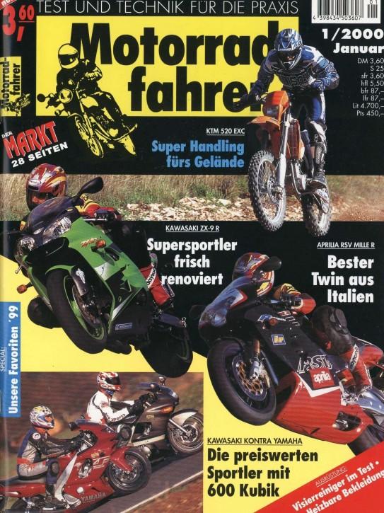 MOTORRADFAHRER Januar 2000