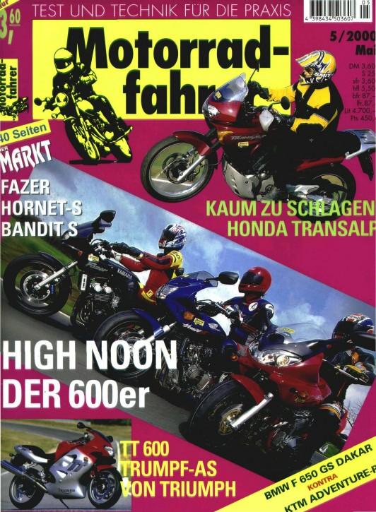 MOTORRADFAHRER Mai 2000