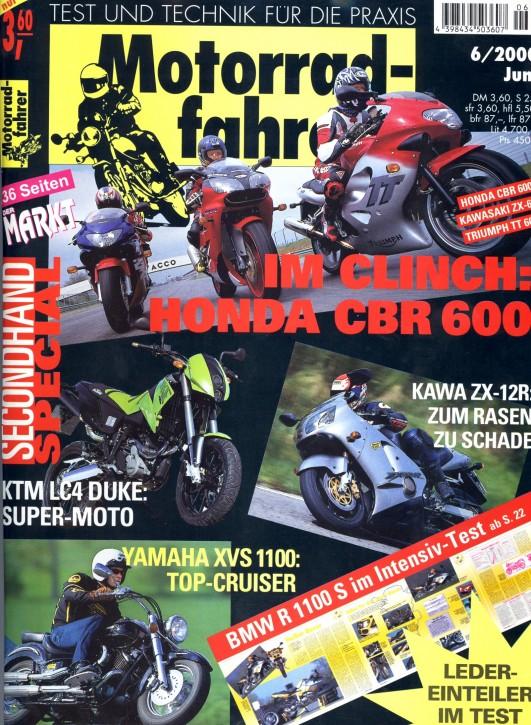 MOTORRADFAHRER Juni 2000
