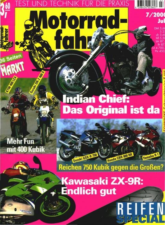 MOTORRADFAHRER Juli 2000