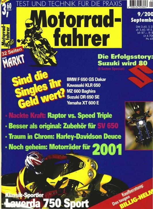 MOTORRADFAHRER September 2000