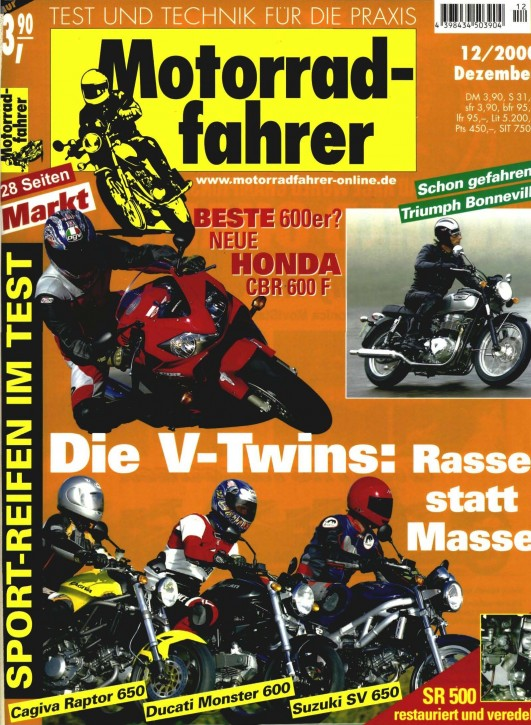 MOTORRADFAHRER Dezember 2000