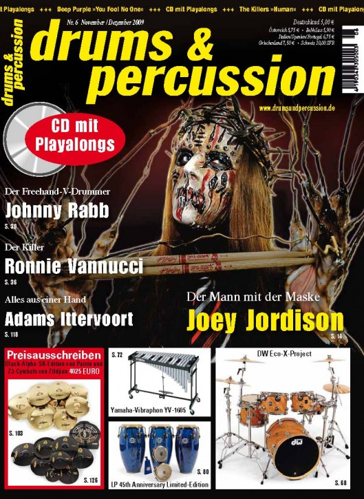 drums&percussion November/Dezember 2009