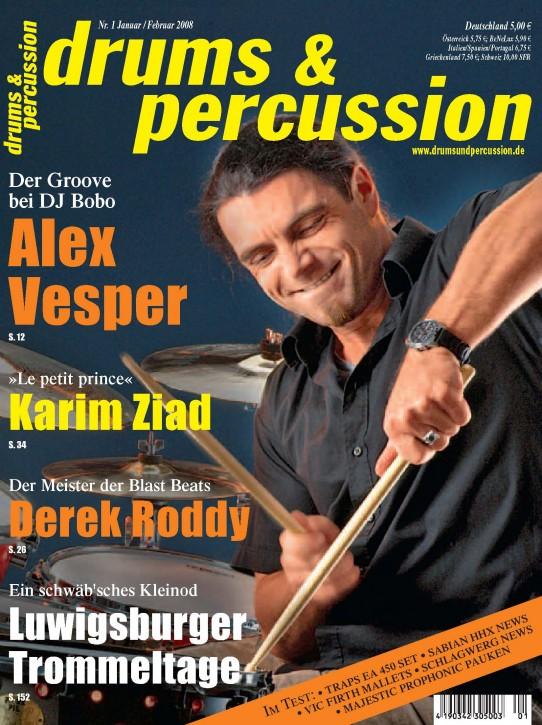 drums&percussion Januar/Februar 2008