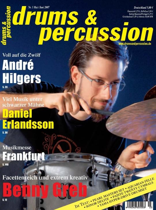 drums&percussion Mai/Juni 2007