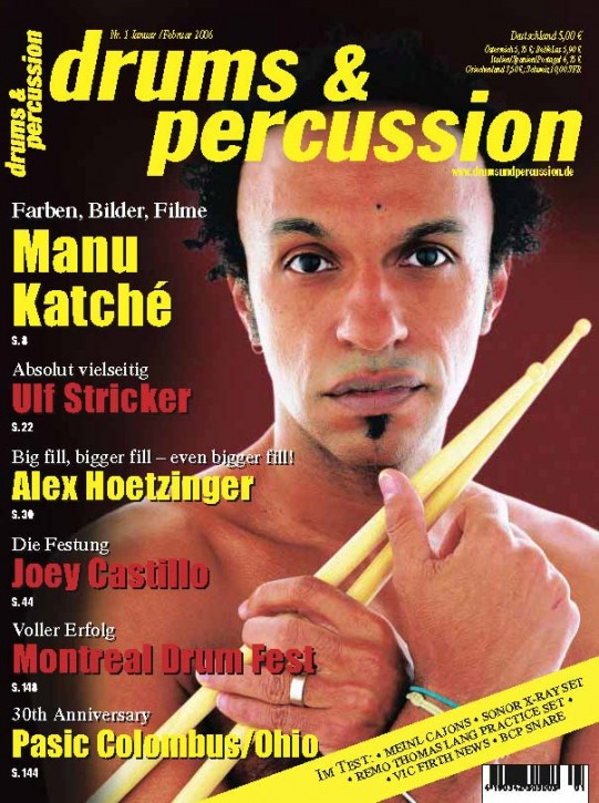 drums&percussion Januar/Februar 2006