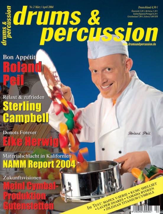drums&percussion März/April 2004