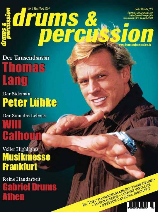drums&percussion Mai/Juni 2004