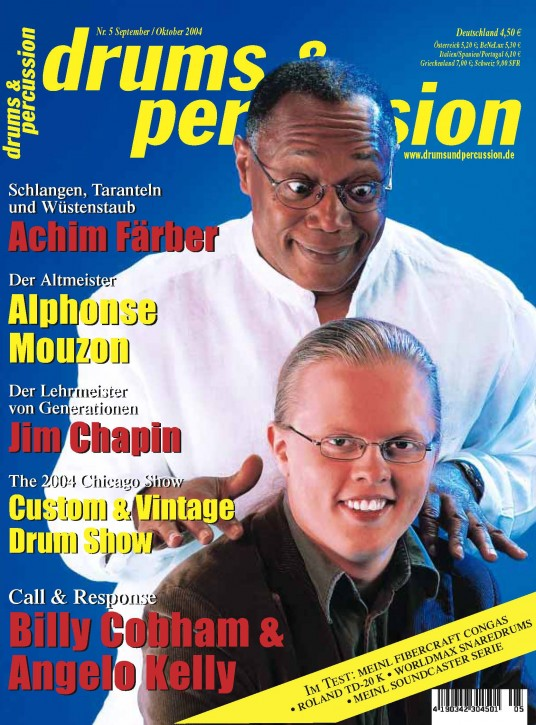 drums&percussion September/Oktober 2004