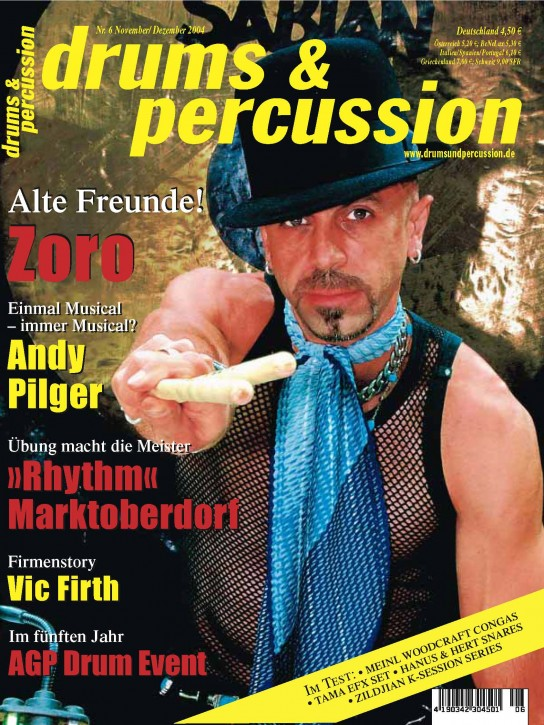 drums&percussion November/Dezember 2004